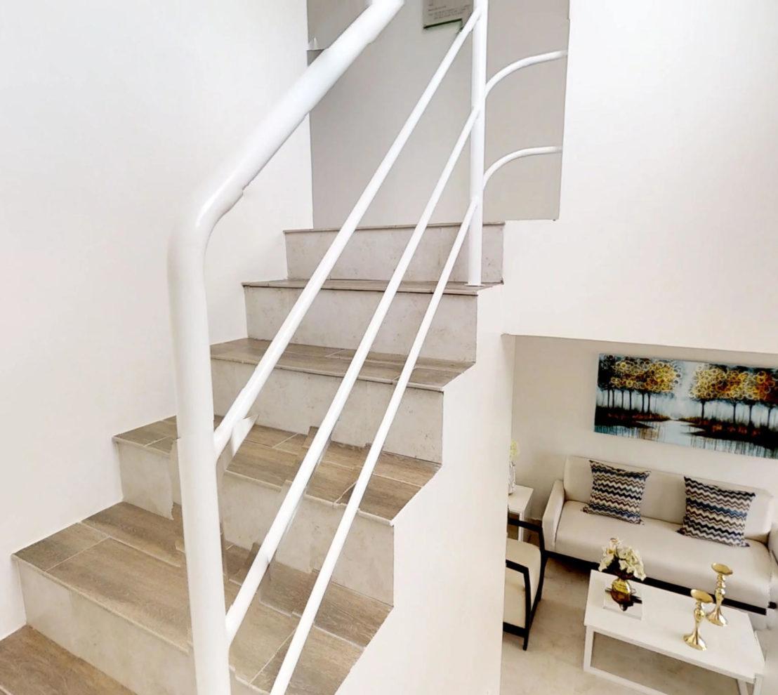Escaleras W