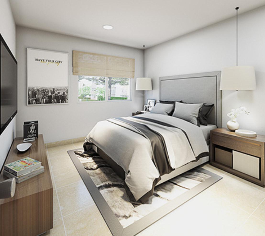 Dormitorio departamento DF