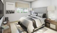 Dormitorio departamento DC